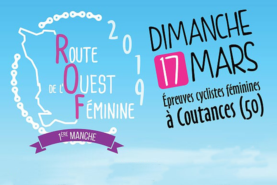 affiche route ouest feminine 2019